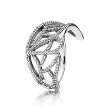 925 Sterling Silver New Beginning Butterfly Ring with Clear Cz For Women QJCB557 - $26.68