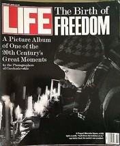 "LIFE MAGAZINE FEB.1990, ""THE BIRTH OF FREEDOM"", KENNEDY'S, GLORY, LETTER... - $9.45"