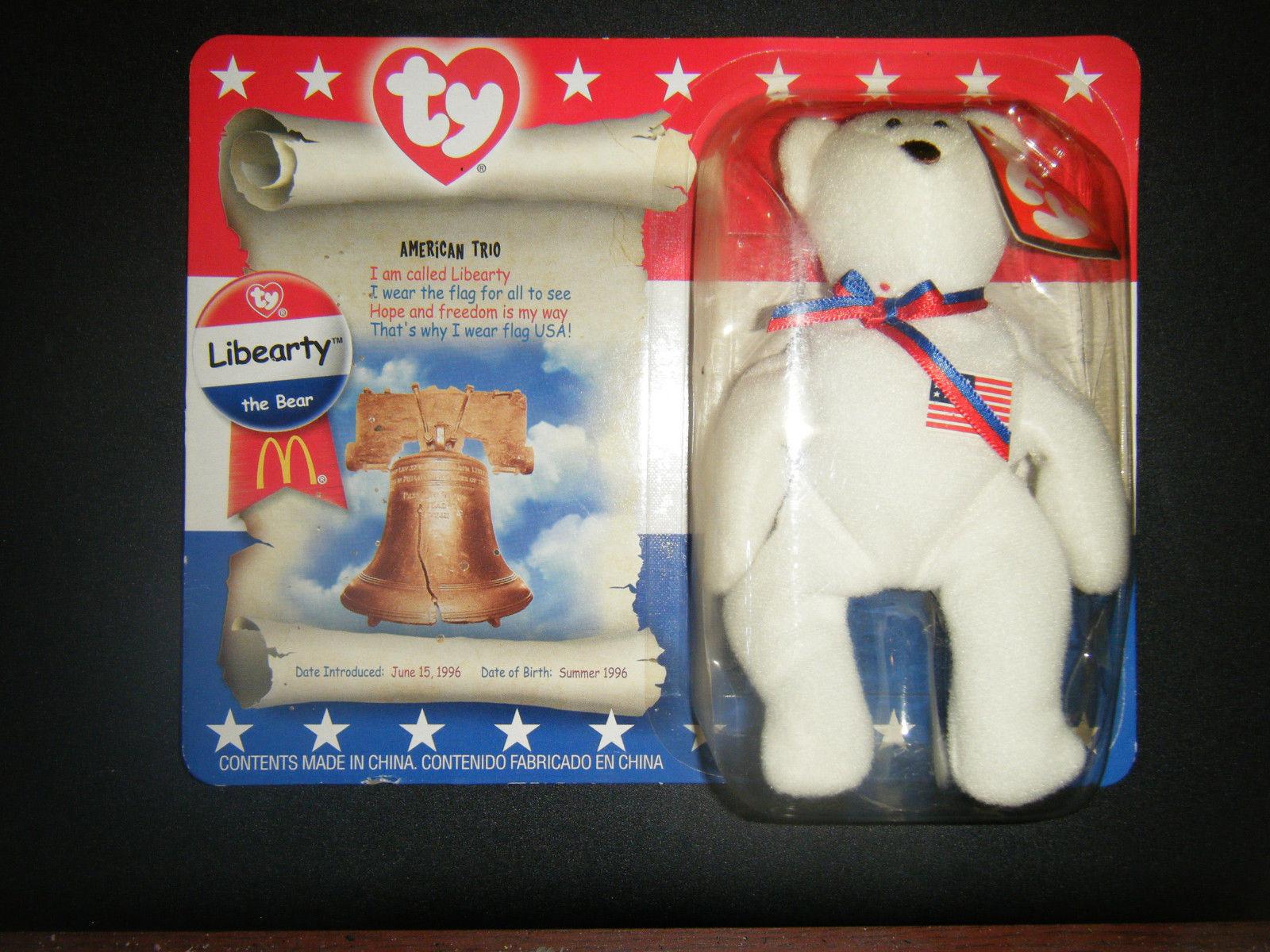 BUY 1 GET 1 Ty Teenie Beanie Baby FRECKLES The LEOPARD McDonald 1999 NIP