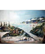 Alfred Birdsey Original OIL Painting Bermuda on Canvas - $1,888.88