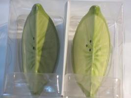 Target Ceramic Lime Quarters Salt / Pepper Shaker Set - $2.99