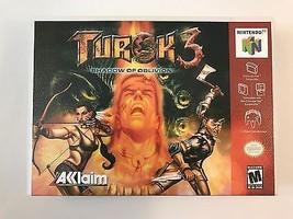 Turok 3 - Nintendo 64 - Replacement Case - No Game - $7.91