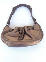 Kenneth Cole Reaction Bronz Leather Hobo Small ... - $9.75