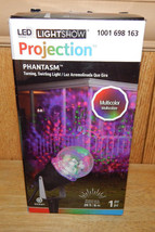 Gemmy LED Halloween Phantasm Multicolor Turning Swirling Projection Ligh... - $23.12