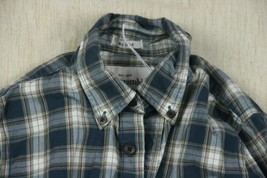 Abercrombie New York Long Sleeve Collard Button Down Plaid Shirt Boys Sz... - $6.97
