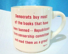 Ceramic Political Coffee Mug - $10.00