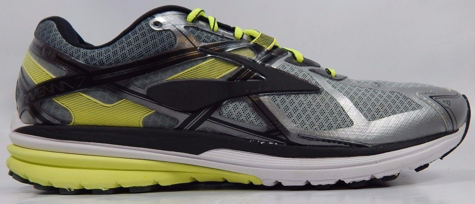 Brooks Ravenna 7 Men's Running Shoes Sz US 11.5 M (D) EU 45.5 Silver 1102171D116