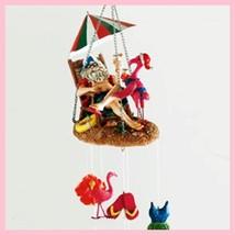 palm beach santa clause wind chime - $31.68