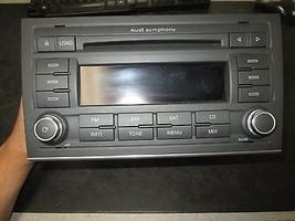 07 08 AUDI A4 RADIO CD #8E0057195,7647034680 *See item* - $148.50