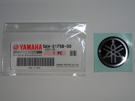 Yamaha Tuning Fork Mark Sticker Decal Raptor 50 80 660 700 Grizzly 125 550 - $9.95