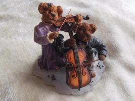 Boyd's Bears Amanda and Michael...String Section Bearstone  - $34.65