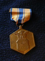U.S. Armed Forces Air Force Commendation Medal for Military Merit Marked... - $5.93