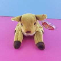 Ty Beanie Baby Whisper the Deer Fawn 1998 Tags with Cover  - $8.91