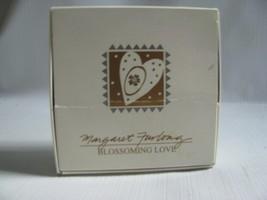 "Porcelain Heart Ornament "" Blossoming Love"" Margaret Furlong 1998 Boxed - $15.79"