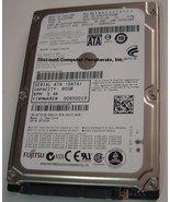 MJA2080BH Fujitsu 80GB SATA 2.5 in Drive Tested Good Free USA Shipping - $26.95