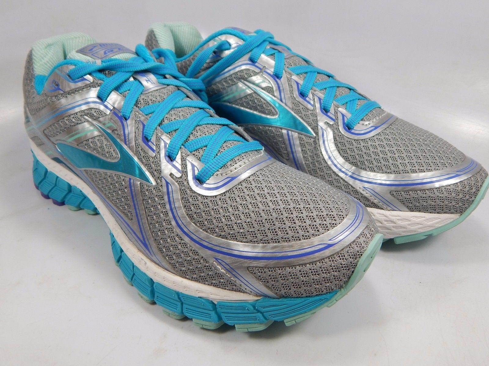 Brooks GTS 16 Women's Running Shoes Sz US 10.5 M (B) EU 42.5 Silver 1202031B170