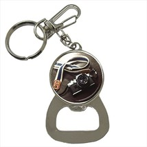 Photography Camera Hobby Bottle Opener Keychain and Beer Drink Coaster Set - $7.71+