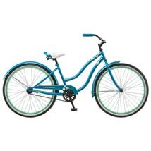 Women's Cruiser Bike Beach Vintage Retro Blue Bicycle Basket Outdoor Spo... - $152.99