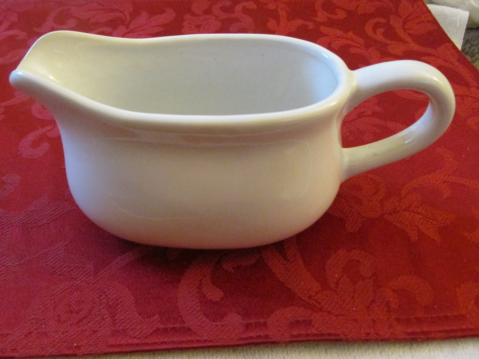Over and Back Gravy Boat
