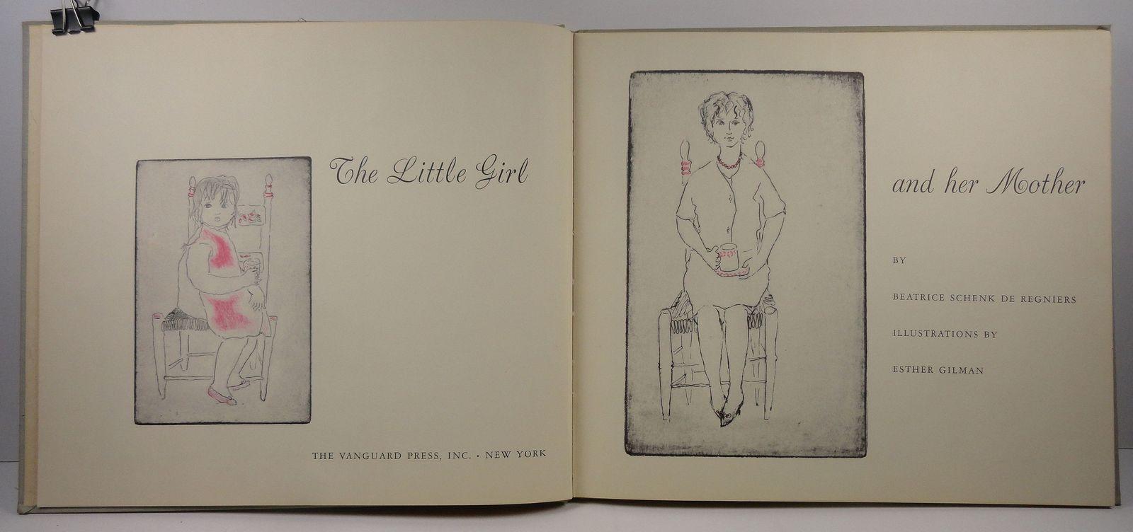 The Little Girl and Her Mother  Beatrice Schenk De Regniers