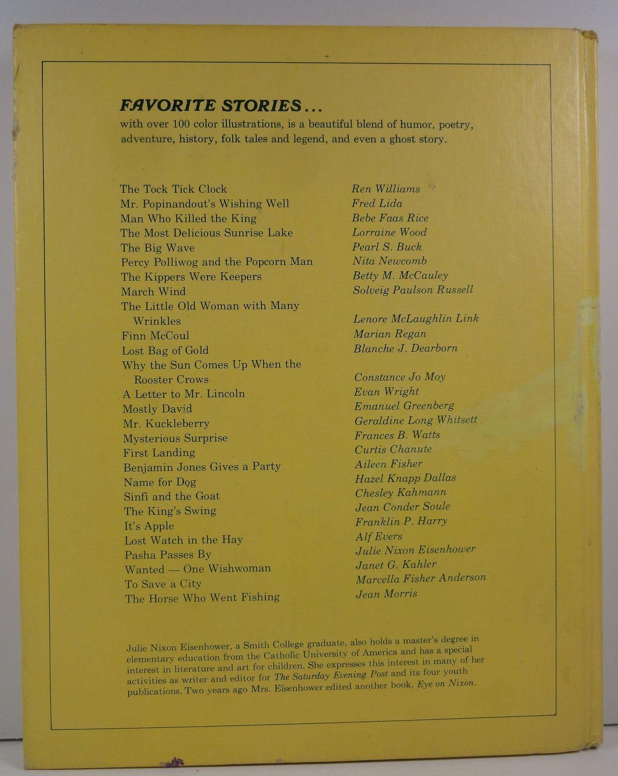Julie Eisenhower's Favorite Stories For Children 1974