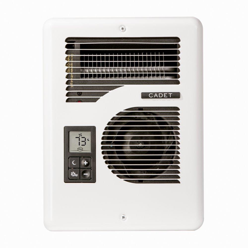 Electric Fan Wall Heater Thermostat Indoor Warm 1600 Watt 5459 BTU 275 SQ FT NEW - $299.99