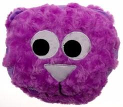 Purple Cat Pillow Color LED Light Up Flash Plus... - $18.48