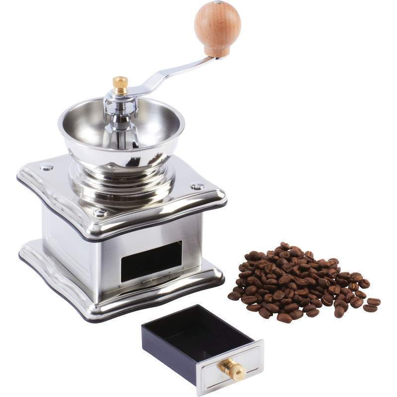 Coffee Maker And Bean Grinder : Stainless Hand Crank Restaurant Equipment Coffee Maker Bean Herb Spice Grinder - Coffee Grinders