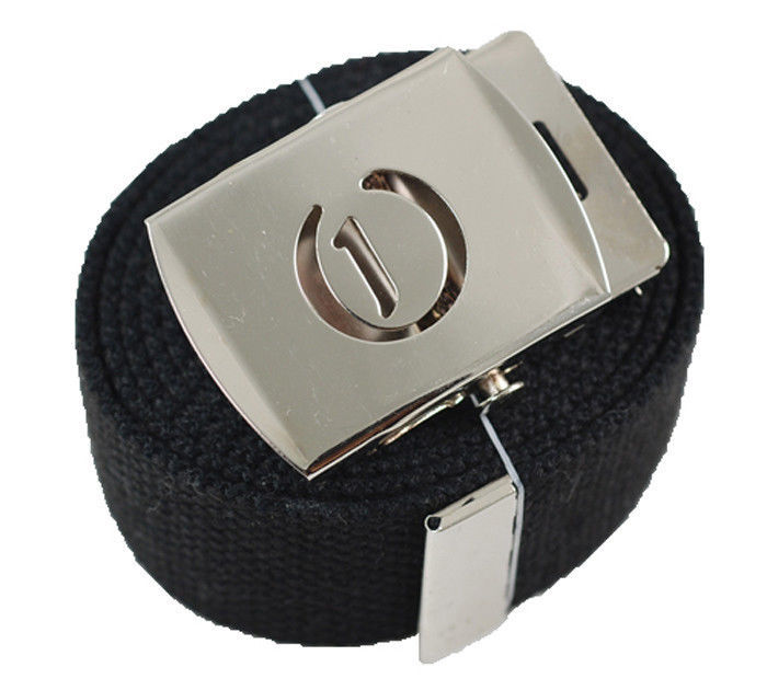 """60/"""" Initial /""""B/"""" Old English Canvas Military Web Belt /& Buckle 25 Color"""
