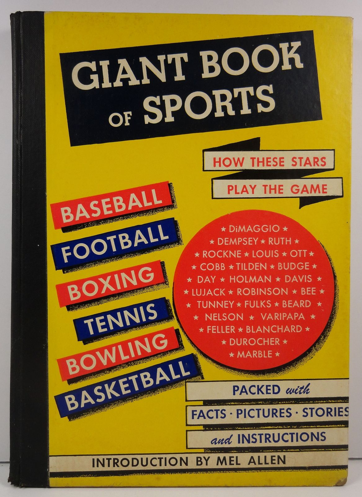 Giant Book of Sports by Samuel Nisenson 1948