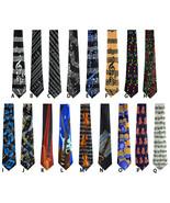 Mens Musical instrument Muscial Notes tie Music Neckties 16 Designs - $8.99