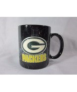 Green Bay Packers Coffee Mug Cup with Pewter Emblem - $16.82