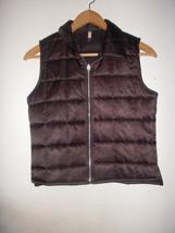 NWOT! Forever 21 Black Quilted Puffy Ski Apres Vest Pufffer Jacket size M - $9.89