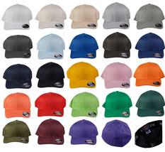 Flexfit Fitted Plain Baseball Cap 23 Color 2 Size Cap - $8.99