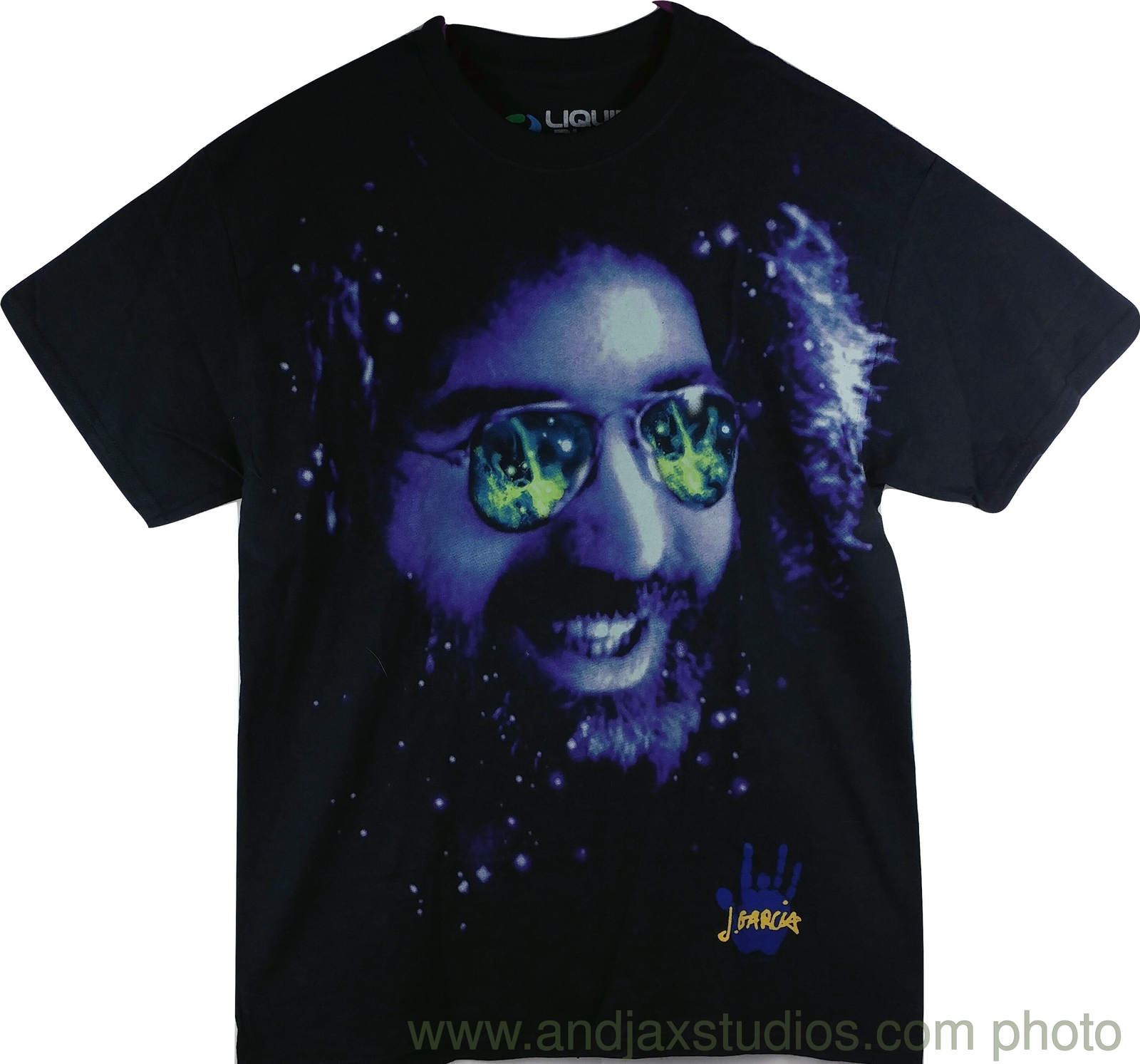 Jerry Garcia The Grateful Dead Black Music T-Shirt