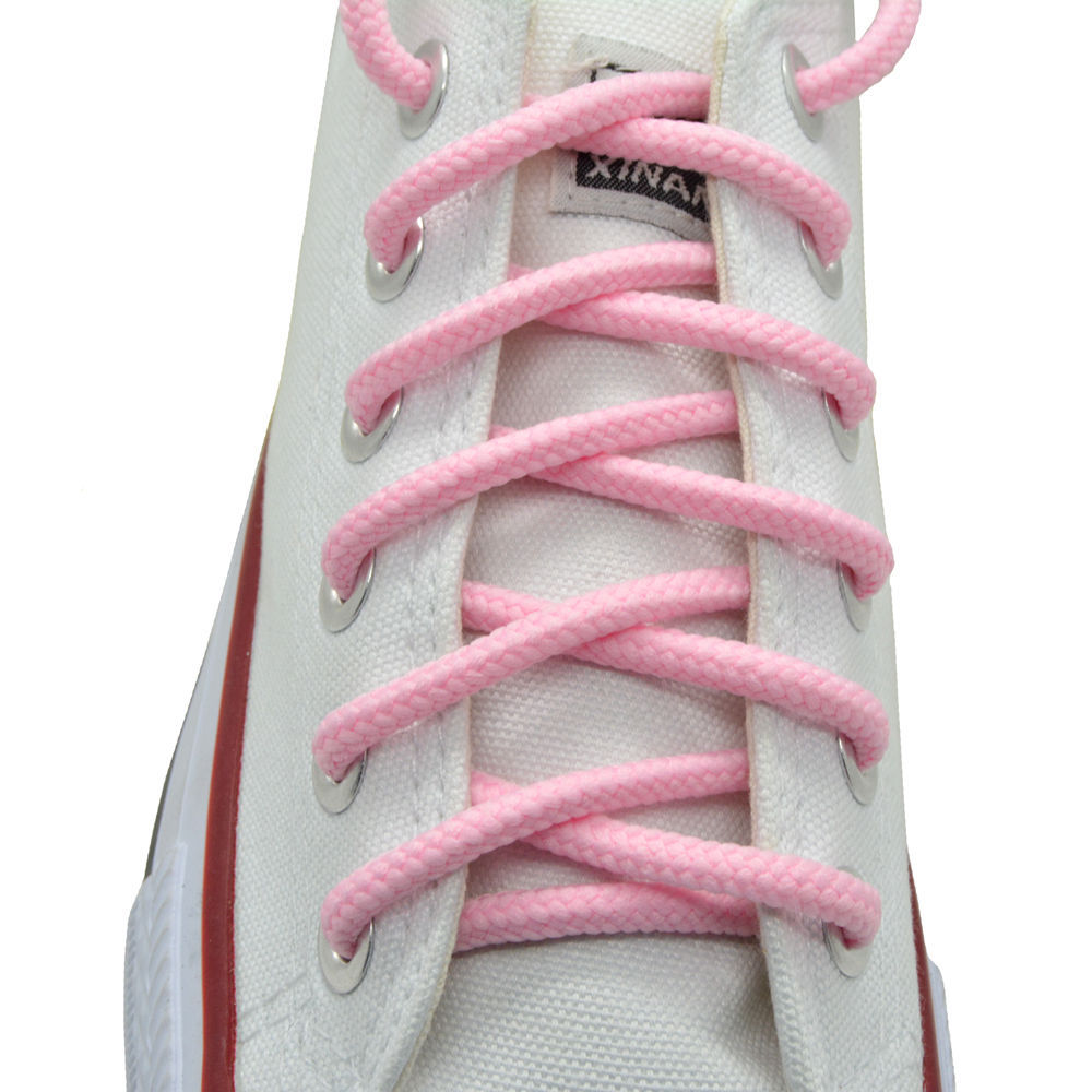 """Oval Sneakers Shoelaces /""""Purple/"""" 45/"""" Athletic Shoelaces 1,2,4,6.12 Pairs"""