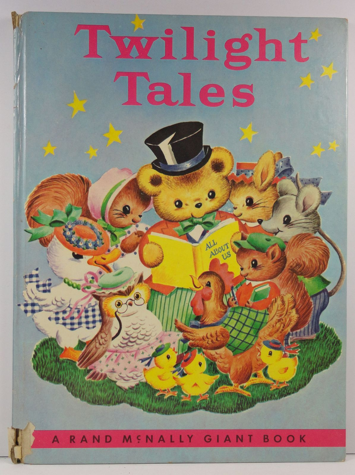 Primary image for Twilight Tales Miriam Clark Potter Rand McNally Giant Book