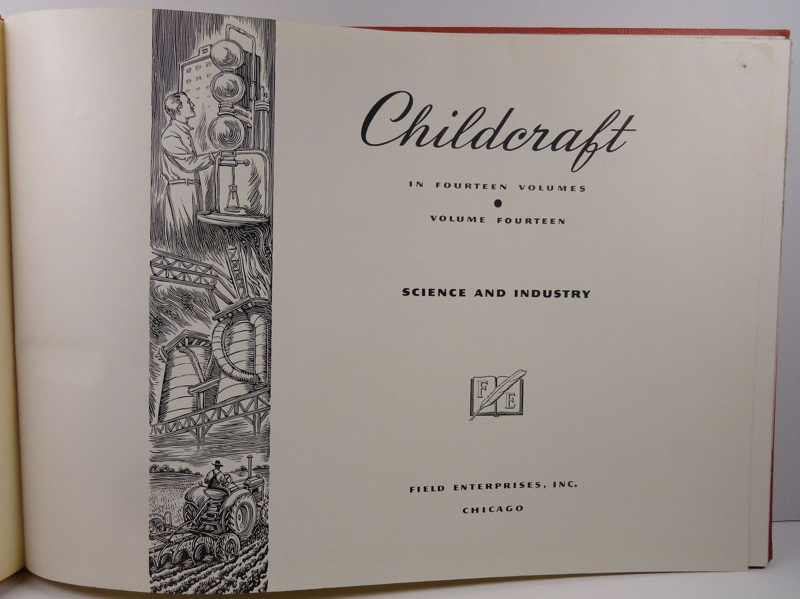 Childcraft Volume 14 Science and Industry 1949