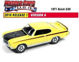 2016 Johnny Lightning Muscle Cars U.S.A. 1971 Buick GSX. 1:64 Scale diec... - $8.99