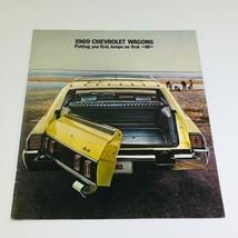 1969 Chevrolet Kingswood Estate Wagons Dealership Car Auto Brochure Catalog - $9.45
