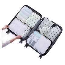 8 pcs Luggage Packing Organizers Packing Cubes Set for Travel Cactus - $987,33 MXN