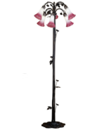58 Inch 6 Light Lily Floor Base Lamp  - $491.40