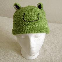 Frog Hat for Children - Animal Hats - Medium - $16.00