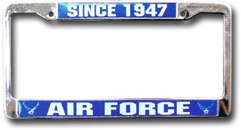 Air force license plate frame 10080