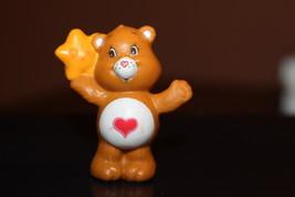 Vintage Kenner Care Bears Tenderheart Bear with Star Mini Figure 1984 - $27.00