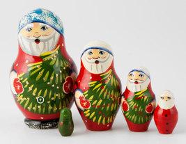 "Santa Nesting Doll - 3"" w/ 5 Pieces - $27.00"