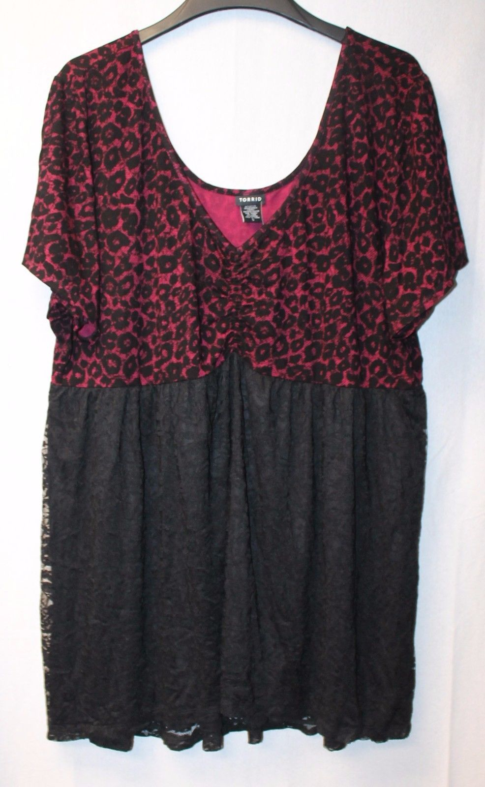 1c513b29a53 New Torrid Womens Plus Size 4X Sexy Burgundy and 50 similar items. 57