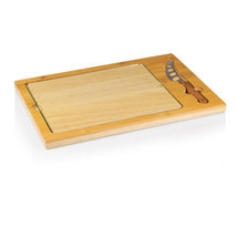 Icon - Glass Top Cutting Board w/ Cheese Knife - $35.95
