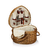 Heart Picnic Basket for Two - $131.95
