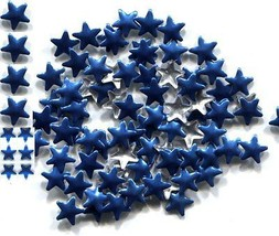 STARS Smooth Rhinestuds 6mm ROYAL BLUE Hot Fix 144 Pc  1 gross - $4.49